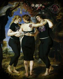 Las tres manojitas Rubens