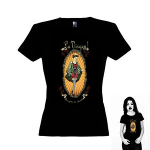 Mujer Camiseta La Virgen