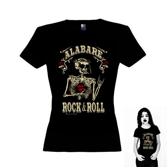 Camiseta Alabaré el RockNRoll para mujer
