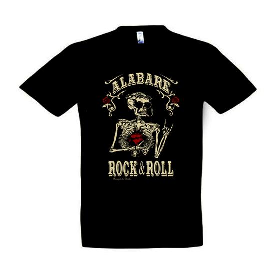 Camiseta Alabaré el RockNRoll para hombre