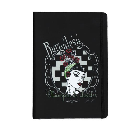 Burgalesa Cuaderno Manojito de Claveles