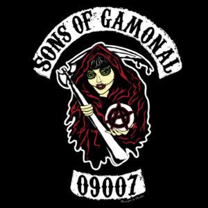 Modelo de CVamiseta Sons of Gamonal 09007
