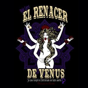 Camiseta Diseño Venus Renacer