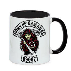 Taza Sons of Gamonal Manojito de Claveles