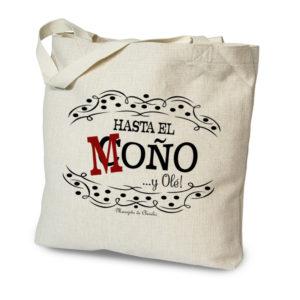 Bolsa tote bag Hasta el Coño de Manojito de Claveles