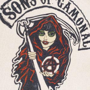 Bolsa tote bag Sons of Gamonal de Manojito de Claveles