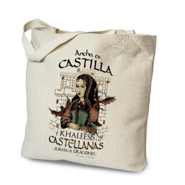 Bolsa tote bag Ancha es Castilla de Manojito de Claveles