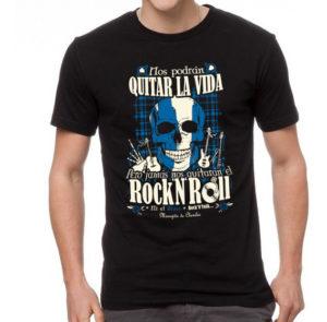 Camiseta Brave RockNRoll para mujer